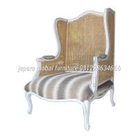 kursi sofa single rotan ( duco,nakas,almari,dipan,furniture)