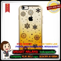 Remax Diamond Snowflake Series TPU Protective Soft Case for iPhone 6/6