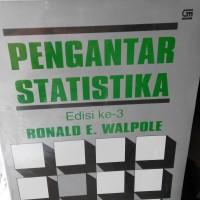 Pengantar Statistika edisi 3, Ronald E. Walpole