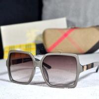 Kacamata Sunglass Burberry 3134 Abuabu Murah