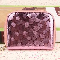 Dompet wanita murah kartu / dompet koin motif batu - FTS043