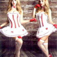 Pakaian Dalam Wanita Sexy Nurse kostum (CT.9705.KIV)