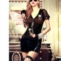Pakaian Dalam Wanita Sexy kostum Polisi (CT.9913.KIV)
