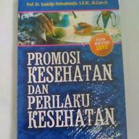 Buku, promosi kesehatan dan perilaku kesehatan - Kesehatan