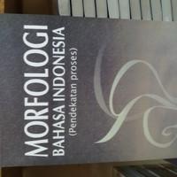 Buku MORFOLOGI BAHASA INDONESIA ( ABDUL CHAER ) | Pengetahuan
