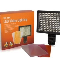 160 LED Video Light for Camera DV Camcorder Canon Nikon Sony - HD-160