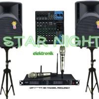 Harga paket sound system outdoor indoor 15 inch ashley | Pembandingharga.com