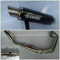 Knalpot Racing Sakura Fullsystem R25 / Mt25
