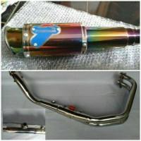 Knalpot Racing Termignoni Pelangi Fullsystem R25 / Mt25