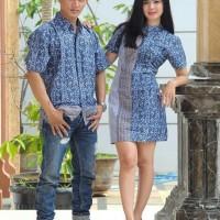 sarimbit dress batik pekalongan batik murah baju couple seragam pesta