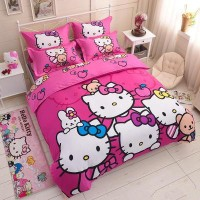 BED COVER HELLO KITTY IMPORT