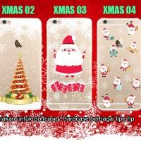 Christmas Edition - Custom Case Casing Softcase utk Berbagai Tipe HP