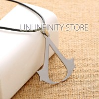 JWNE0139 Kalung Assassin's Creed Pria Wanita Ubisoft Video Game