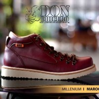 SEPATU DONDICHERO MILLENIUM LEATHER MAROON