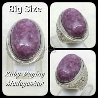 harga Cincin Batu Akik Natural Ruby Daging Madagaskar Big Size High Quality Tokopedia.com