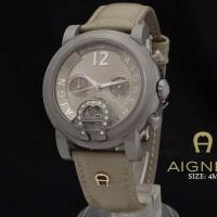 Aigner Bari Diamond Grey Leather