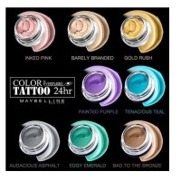 Maybelline Eye Shadow Color Tattoo 24 Hour