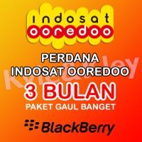 Perdana Paket Blackberry Indosat Ooredoo 3 bulan gaul banget