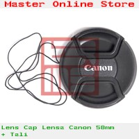 Front Lens Cap 58mm Lensa Camera Canon 18-55mm 50mm 1.4 Jogja Best Buy