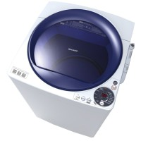 Sharp Mesin Cuci Top Loading 8 Kg - ES-M805P-WB - Biru