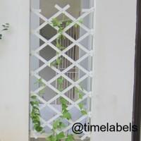 Jual pagar taman plastik tanaman rambat shabby chic tipe 3 Murah