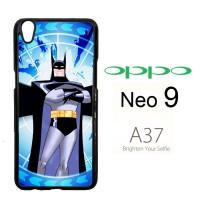 batman cartoon wallpaper Y0193 Casing HP Oppo Neo 9 / A37 Custom Cas