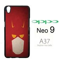 BATMAN LOGO 3 V1054 Casing HP Oppo Neo 9 / A37 Custom Case Cover