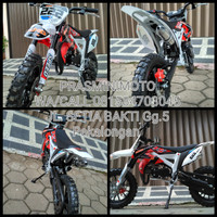 harga motor mini trail 49cc/pocket bike offroad Tokopedia.com