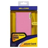 POWERBANK WELLCOMM 5000MAH LITHIUM POLYMER