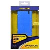 POWERBANK WELLCOMM 4000MAH LITTHIUM POLYMER