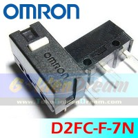 Tombol Mouse Omron D2FC-F-7N Micro Switch Saklar Kecil 3 Pin D2FCF7N