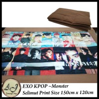 Selimut Print KPOP EXO 150cm x 120cm