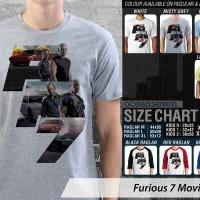 Kaos Fast Furious 7 Movie FF7