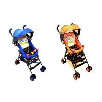 Stroller Pliko 107 Techno buggy kereya bayi mudah dilipat dan praktis