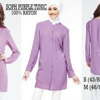 Baju Muslim Wanita - SOPHIE MARTIN PURPLE TUNIC