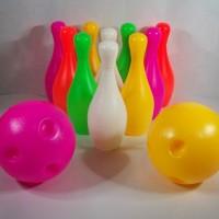 Mainan Bola Bowling Set / permainan anak edukatif / edukasi / kreatif
