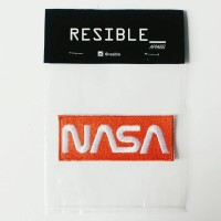 Nasa Worm Logo Red patch / emblem / bordir / badge