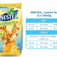 NESTEA Lemon Tea 1000gr Nestle Professional