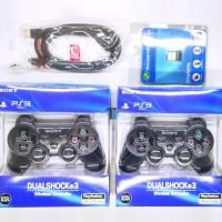 Paket 2 Stik PS3 (Ori Pabrik) + Kabel USB + Bluetooth