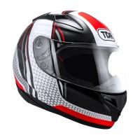 Promo Helm TDR TITAN-S Black/Red Original