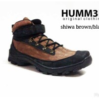 Sepatu pria boot indoor outdoor touring tracking hiking Hummer Humm3r