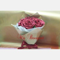 bouquet buket bunga tangan hand bouquet kado hadiah bunga wisuda