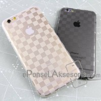 Soft Case iPhone 6/6S Silicon Checkers thin case