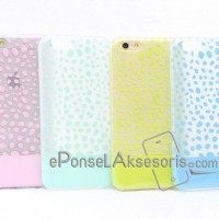 casing & cover IPhone 6/6S Softshell Pastel Silicon