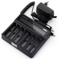 Efest LUC V6 Universal 6 Slot Battery Charger with LCD