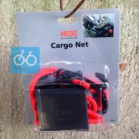 Jual HEBE Cargo nett tali jaring serbaguna motor box / tas / touring / adv Murah
