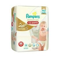 Jual Pampers Active Baby Pants M 30 Premium Care Murah