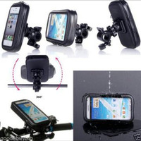 Splashproof HP Case Holder for Bicycle and Motor Bike Sarung Handphone
