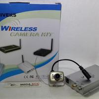 Wireless Mini Infrared 208 Wireless Video Audio Receiver CCTV Camera K