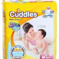 cuddles diapers pants active kids M 20 / pampers bayi / popok bayi